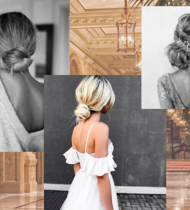 How To Create The Perfect Low Bun